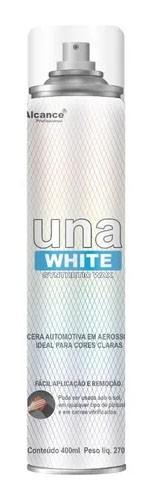 Cera Spray Una White Synthetic Wax - 400ml - Alcance