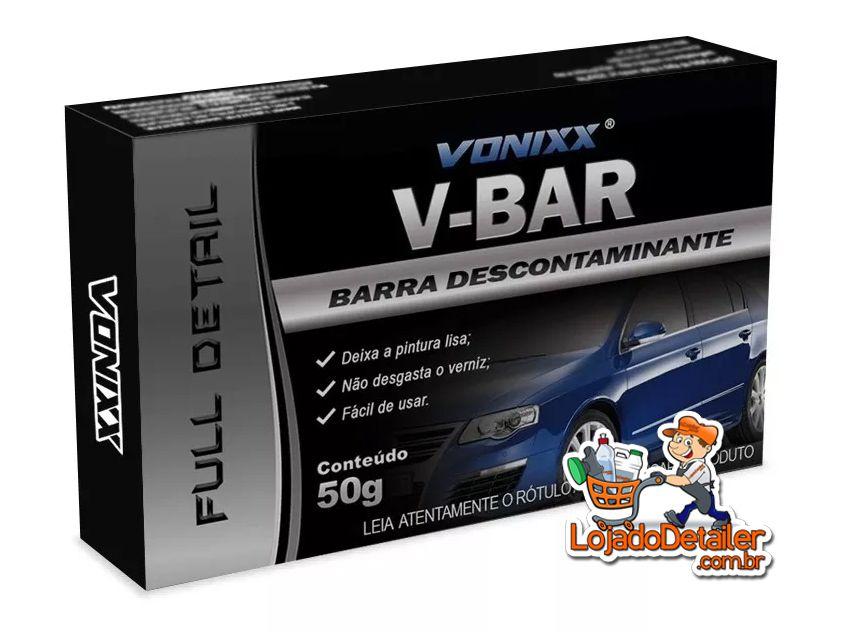 Clay Bar V-Bar – Barra descontaminante - 50g - Vonixx