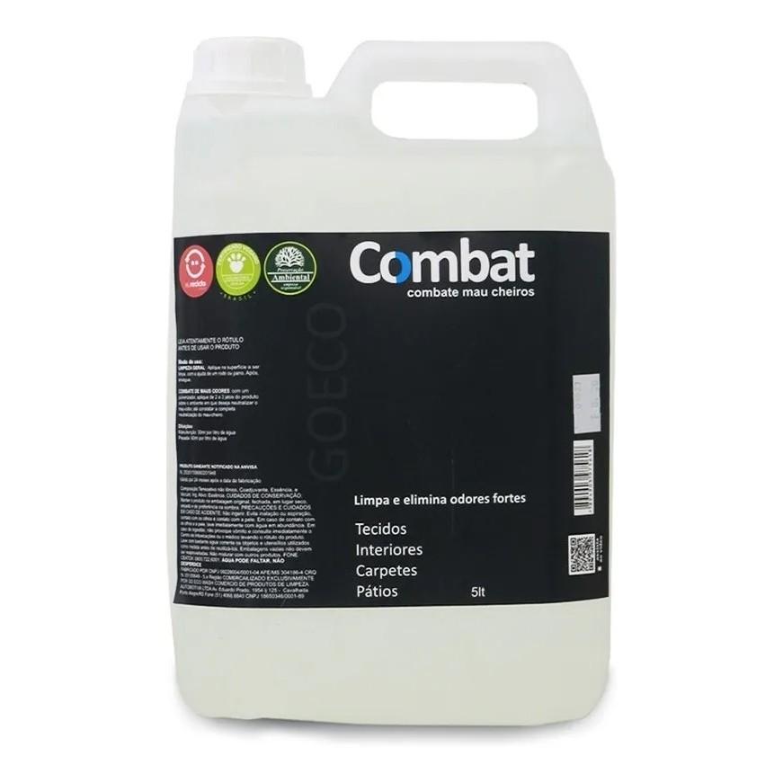 COMBAT - Eliminador de Odores Fortes - 5L - GoEcoWash