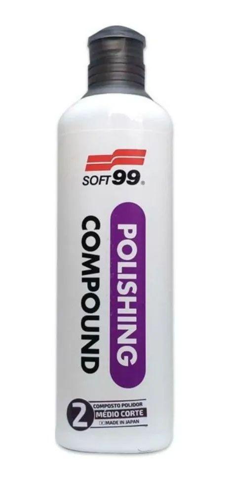 Composto N°2 Polishing Medio Corte - 300 ML - Soft99