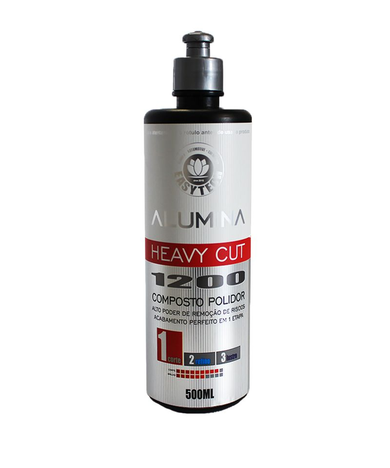Composto Polidor de Corte Pesado Alumina Heavy Cut 1200 - 500ml - EasyTech