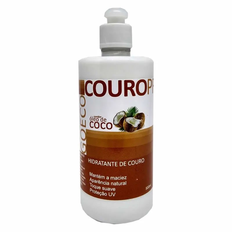 CouroPro - Hidratante de Couro com oleo de coco - 500ml - GoEcoWash