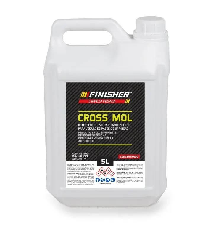 Cross Mol - Detergente Desincrustante Neutro - 5L - Finisher