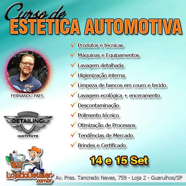 Curso de Estética Automotiva