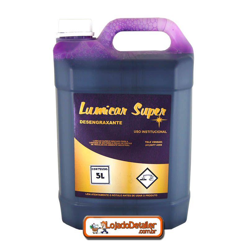 Detergente Ativado Intercap Lumicar Super 5L - Cadillac