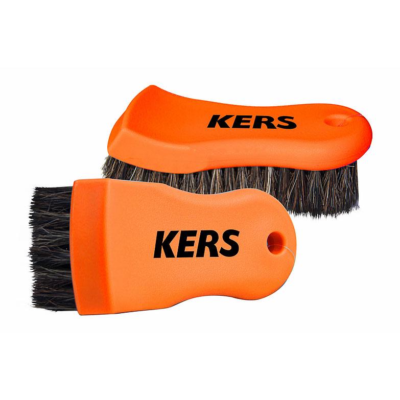 Escova de Cerdas Macias para Limpeza de Couro e Tecidos - Kers