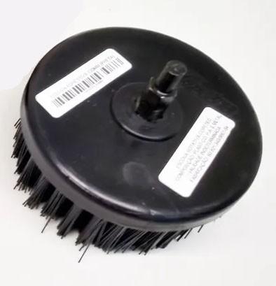 Escova Para Lavar Estofados, Sofás, Bancos Nylon - 100mm - Agressiva