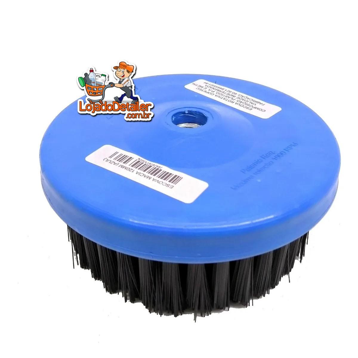 Escova para Limpeza de Estofados - Uso Em Politriz M14 - 120mm - Macia
