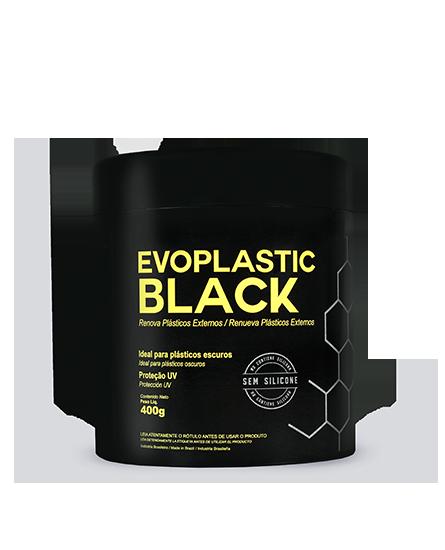 Evoplastic Black - Renovador de Plásticos Externos Pretos - 400g - Evox