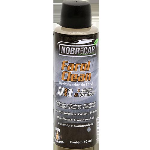 Farol Clean 2 em 1 - Limpa e Protege Faróis - 60ml - NobreCar