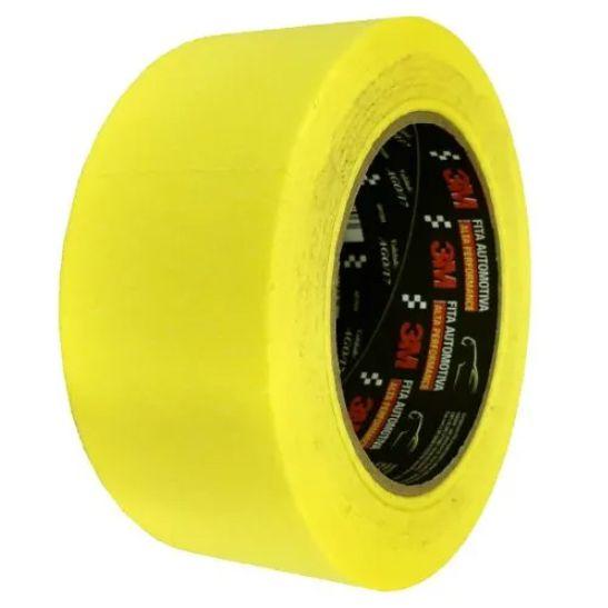 Fita Crepe Alta Performance Amarela - 3M - 48mmX40m