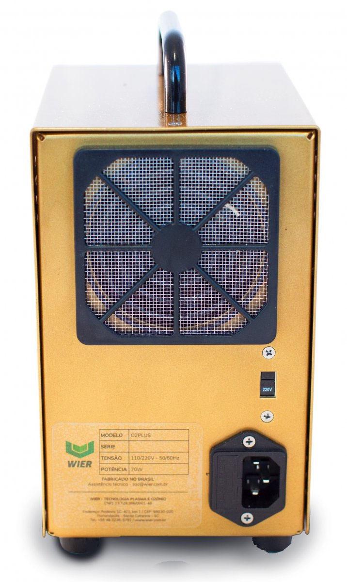 Gerador de Ozônio OZ Plus - Wier