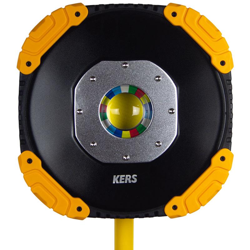Holofote Tripé Lâmpada de Inspeção - 50W - 4000K - Kers