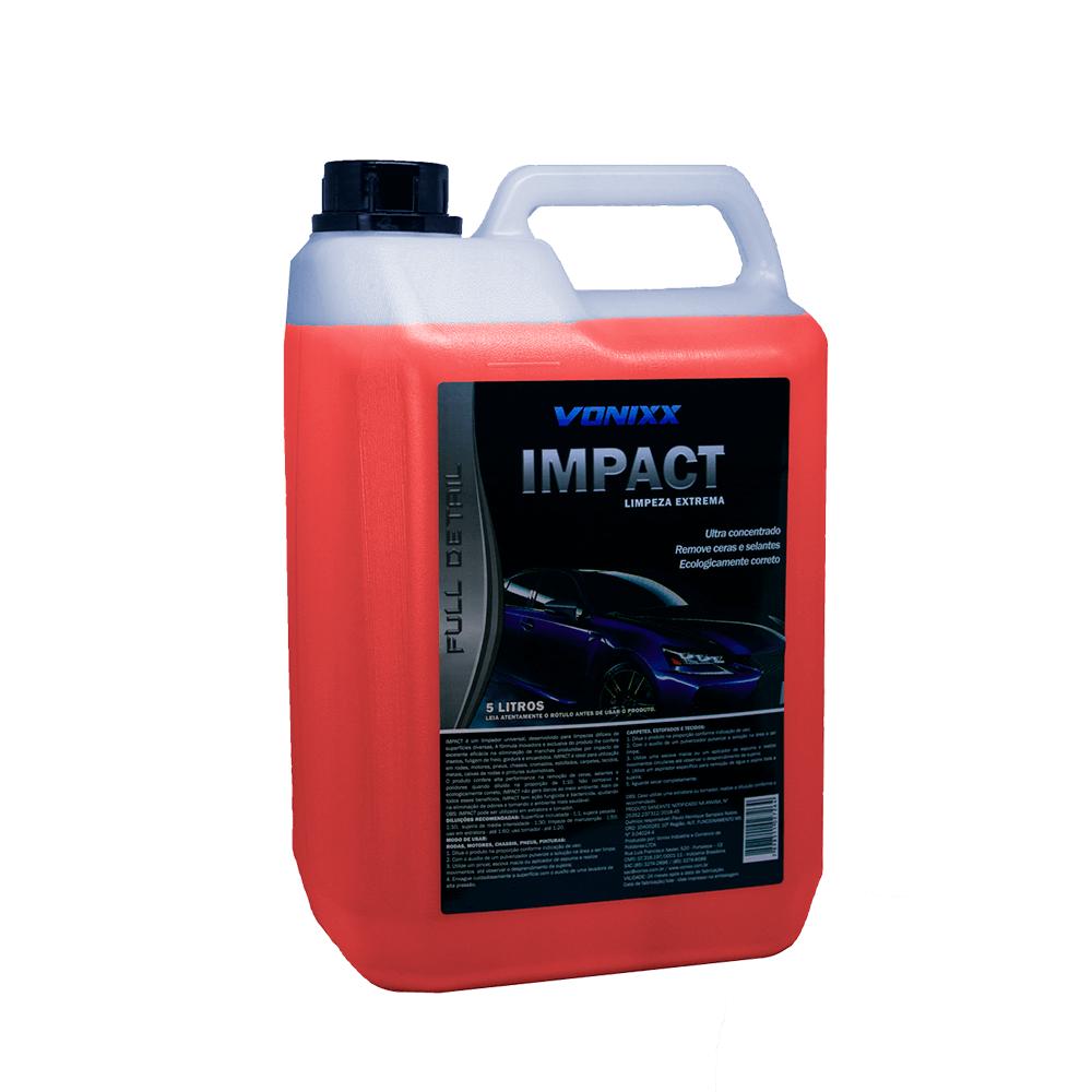 Impact - Multilimpador Universal - Limpeza Externa - Concentrado - 5L - Vonixx
