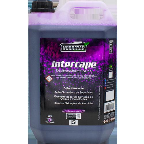 Intercap - Limpa Alumínio Desincrustante Ácido - 5L - NobreCar