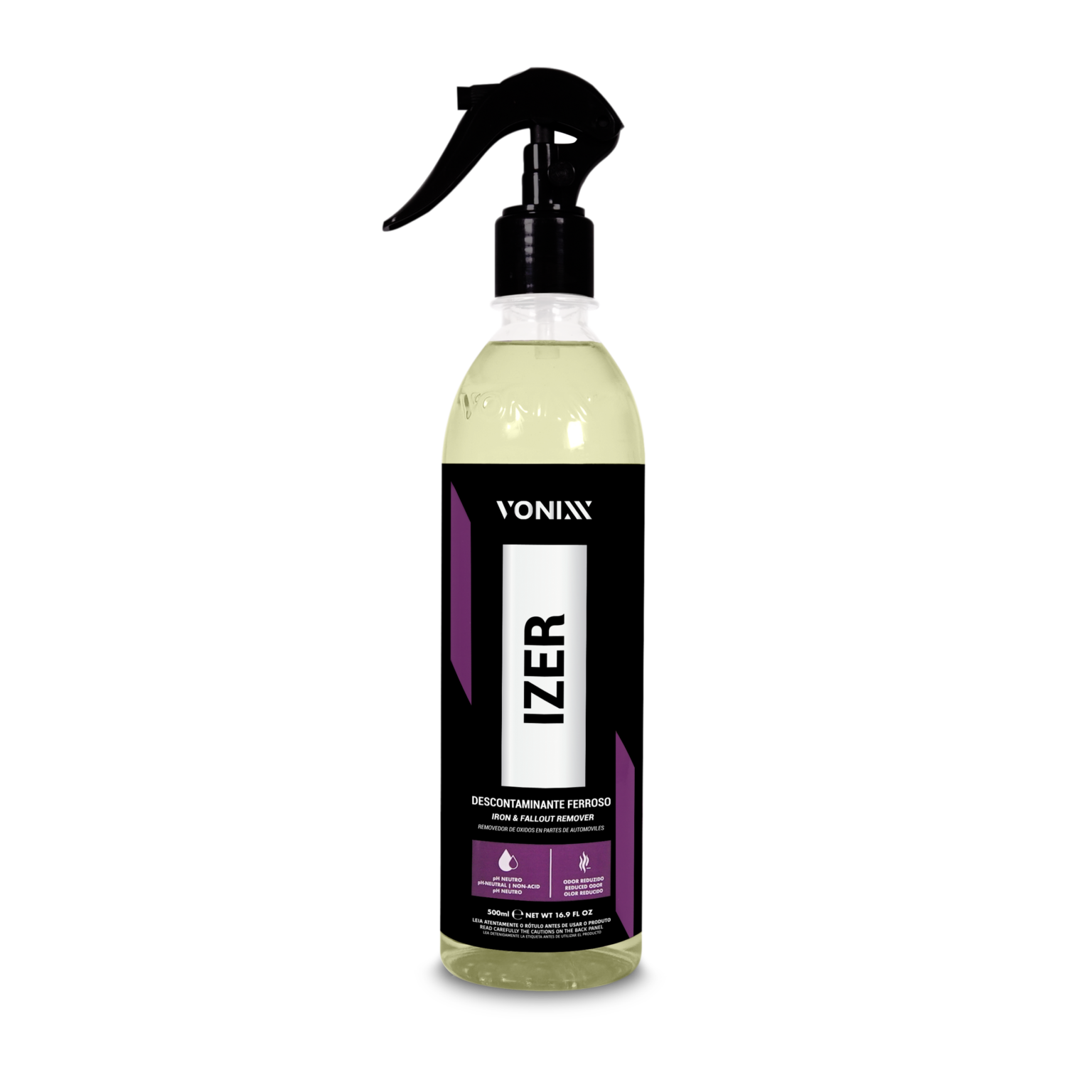 Izer – Descontaminante Ferroso - 500ml - Vonixx - REFIL