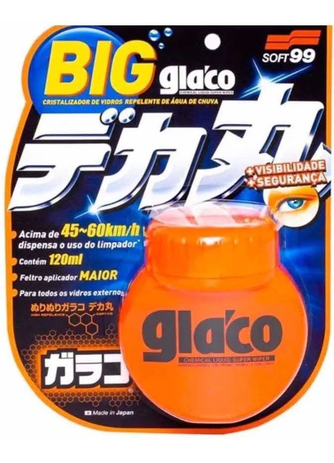 Kit Glaco => Glaco Big + Washer + Boné - Soft99