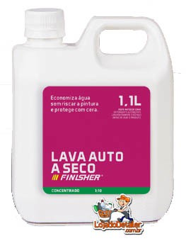 Lava Auto a Seco - 1,1L - Finisher