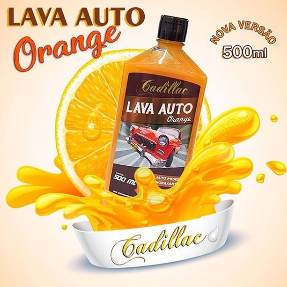 Lava Auto Orange - Cadillac - 500ml - 1:100L