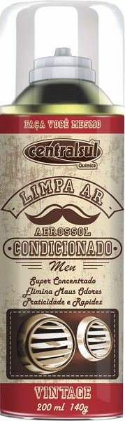 Limpa Ar Condicionado Men Vintage - 200ml - CentralSul