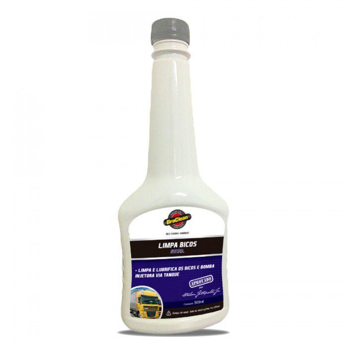 Limpa Bicos para Motores a Diesel 500 ml (Via Tanque) - Braclean