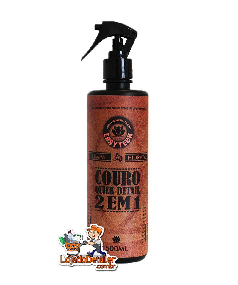 Limpa e hidrata Couro 2×1 Quick Detail - 500ml - Easytech