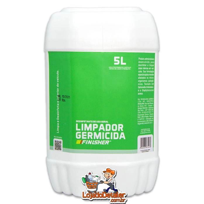 Limpador Germicida - 5L - Finisher