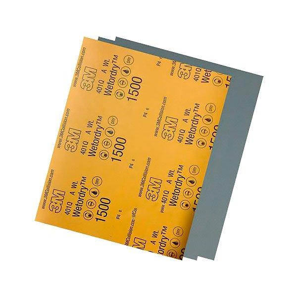 Lixa D' Água 1500 Para Polimento - 3M - 225x275mm