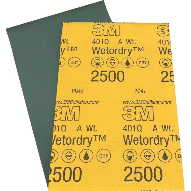 Lixa D' Água 2500 Para Polimento - 3M - 228x140mm