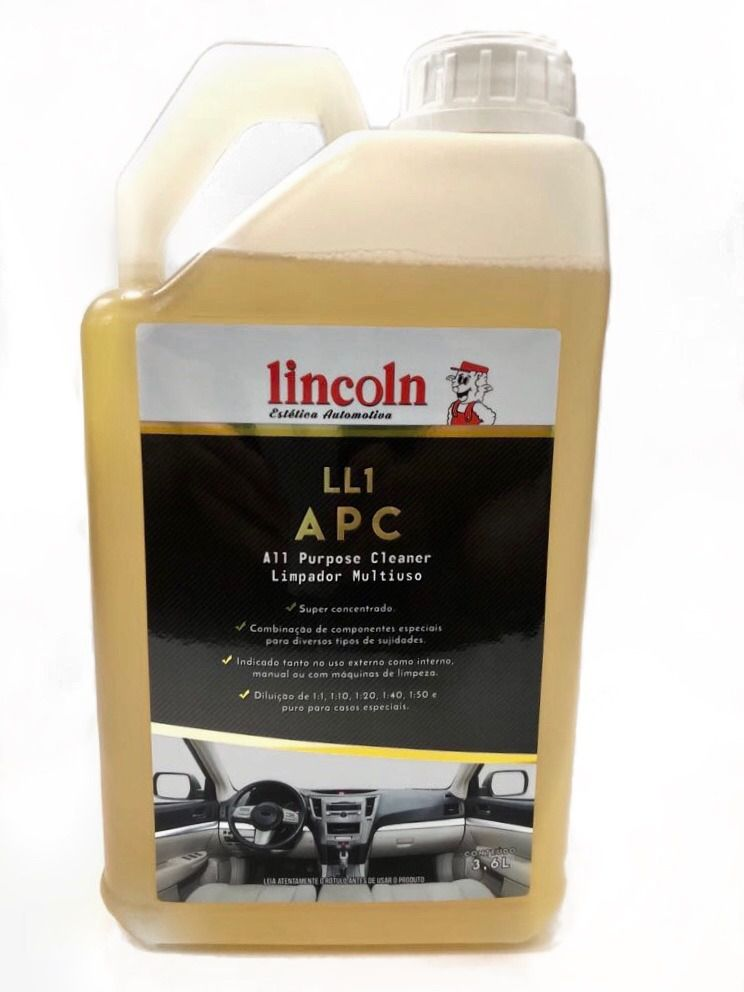 LL1 APC Limpador Multiuso Concentrado - 3.6L - Lincoln