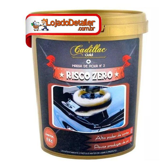 Massa de Polir N2 Risco Zero - Cadillac - 1kg