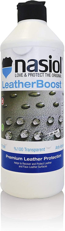 Nasiol Leather Boost 150ml - Nano Proteção UV Para Couro