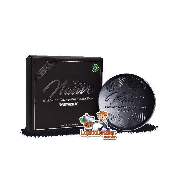 Native Brazilian Carnaúba Paste Wax - Black Edition - Vonixx - (100ml)