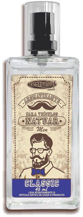 Natuar Men Classic - Aromatizante Spray 45ml - CentralSul