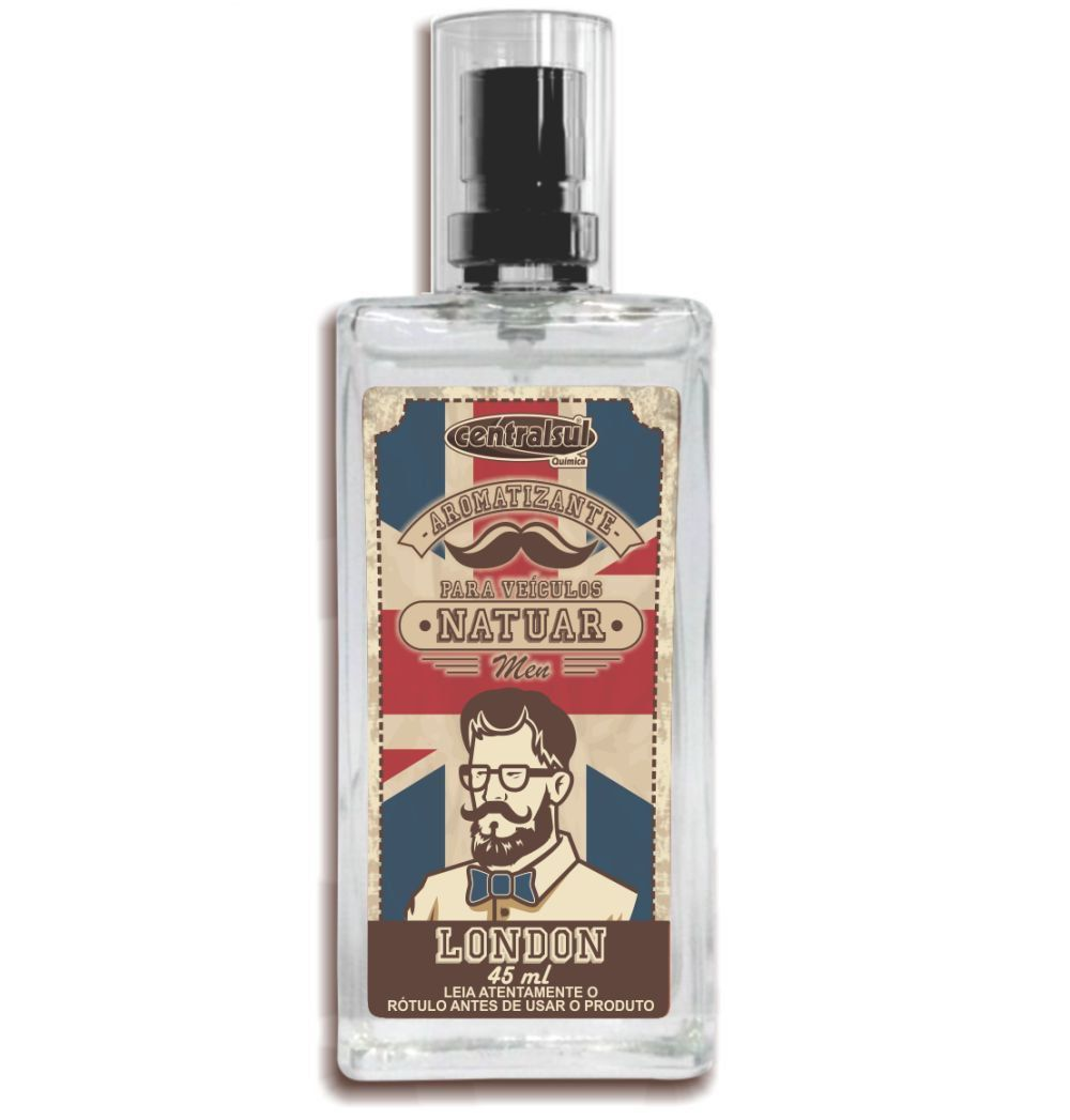 Natuar Men London - Aromatizante Spray 45ml - CentralSul
