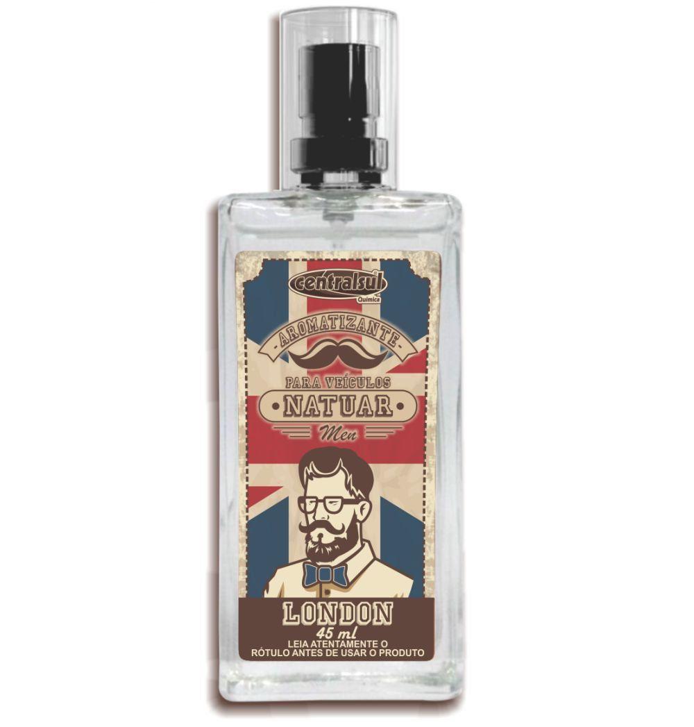 Natuar Men London - Aromatizante Spray 45ml - CentralSul