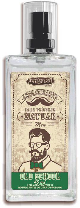 Natuar Men Old School - Aromatizante Spray 45ml - CentralSul
