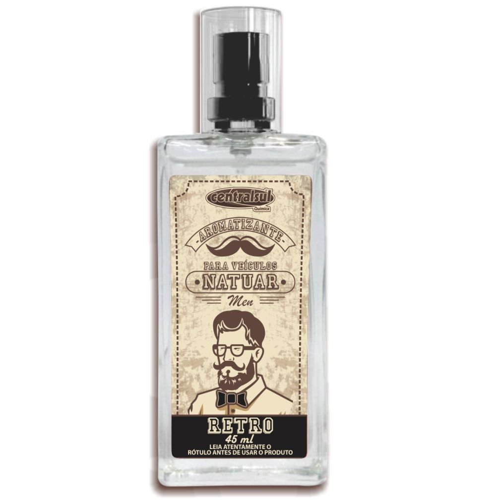 Natuar Men Retro - Aromatizante Spray 45ml - CentralSul