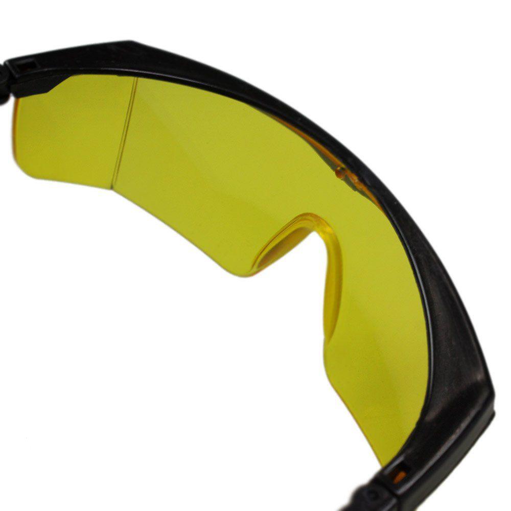 Óculos de Segurança Mod. RJ Amarelo - Loja do Detailer 6ed68e3eaa