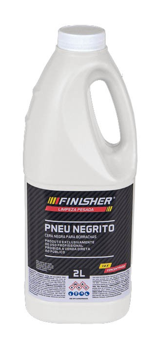 Pneu Negrito Cera Negra Para Borrachas - 5L - Finisher