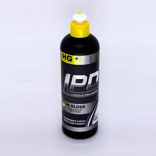 Polidor de Refino LPD Hi Gloss Lincoln 500gr (nova fórmula)