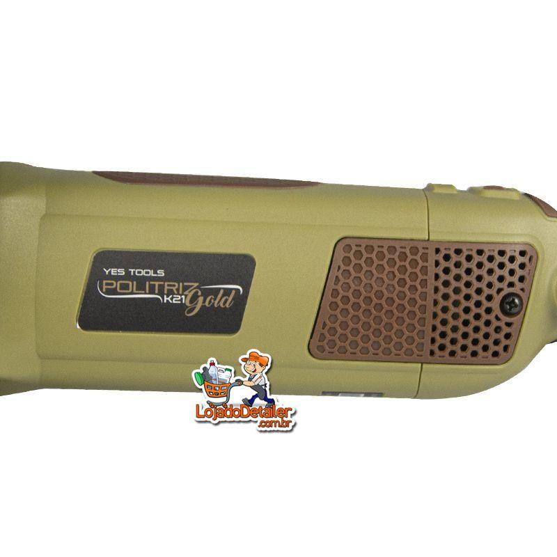 Politriz Roto Orbital K21 Gold 60HZ 810W - Yes Tool Kers - 220V
