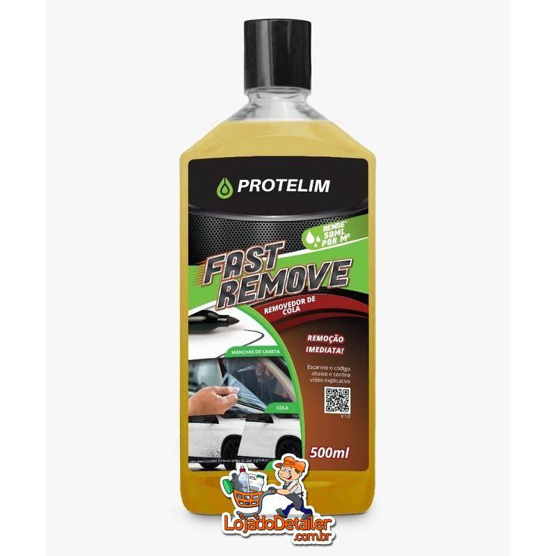 Protelim Fast Remove - 500ml - Removedor de Cola, Piche, Caneta e Chiclete
