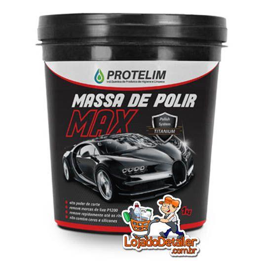 Protelim Massa de Polir MAX N2 - 1KG