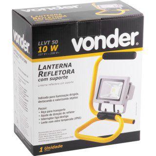 refletor com suporte, 10 W, LLV 750, VONDER