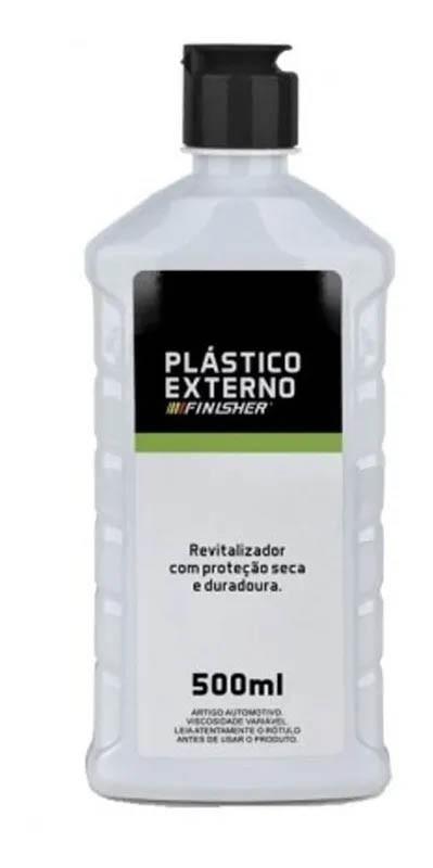 Revitalizador De Plásticos Plástico Externo - 500ml - Finisher