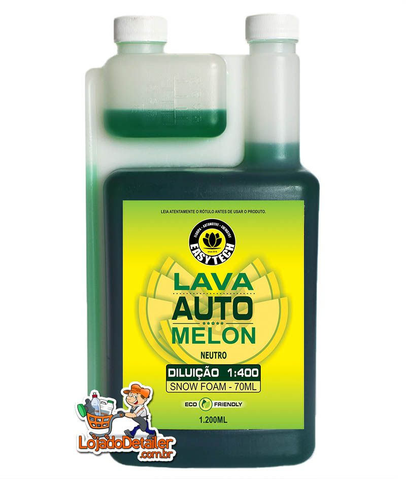 Shampoo Melon Automotivo Super Concentrado - 1:400 - Easytech - 1,2L