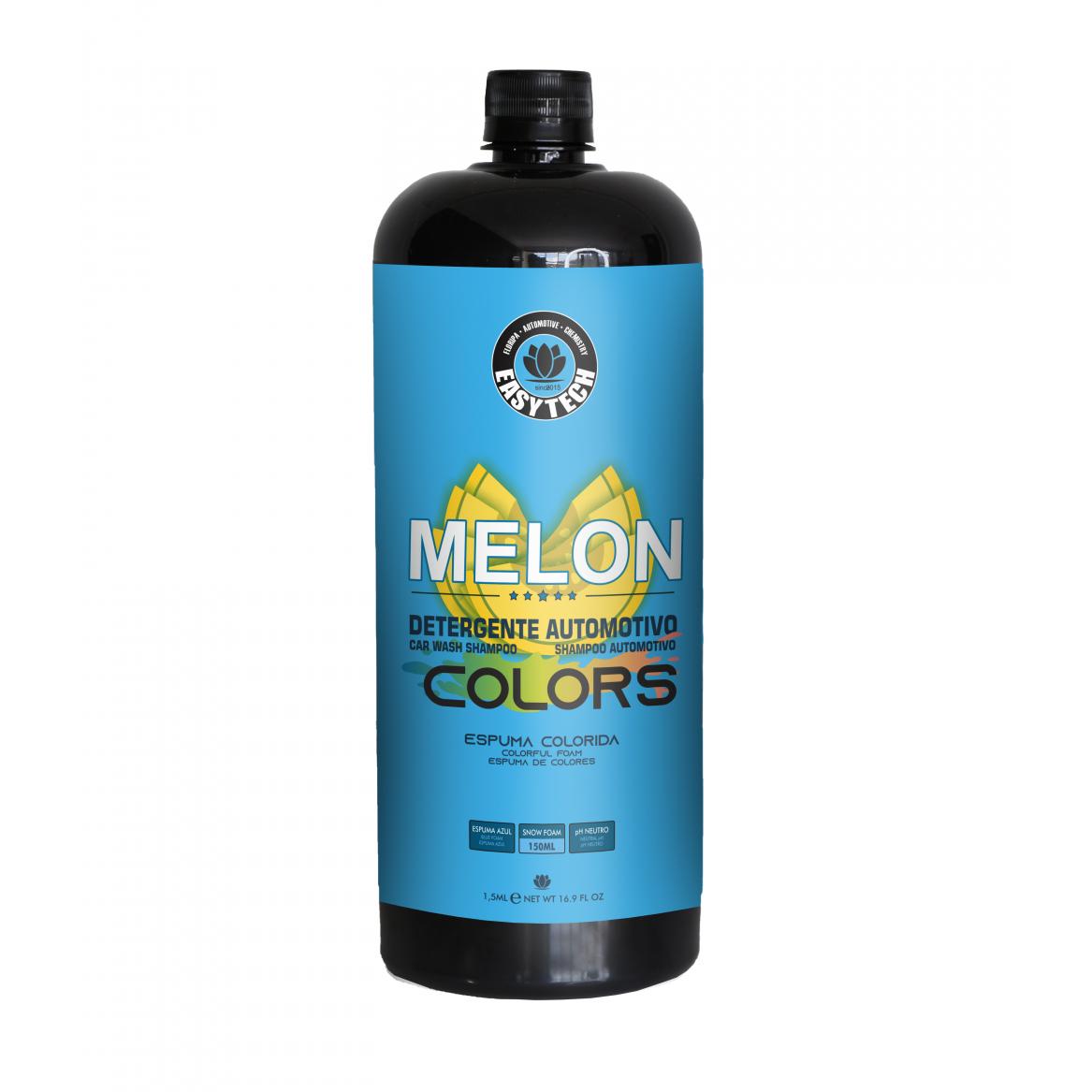 Shampoo Melon Colors Azul - Easytech - 1,5L
