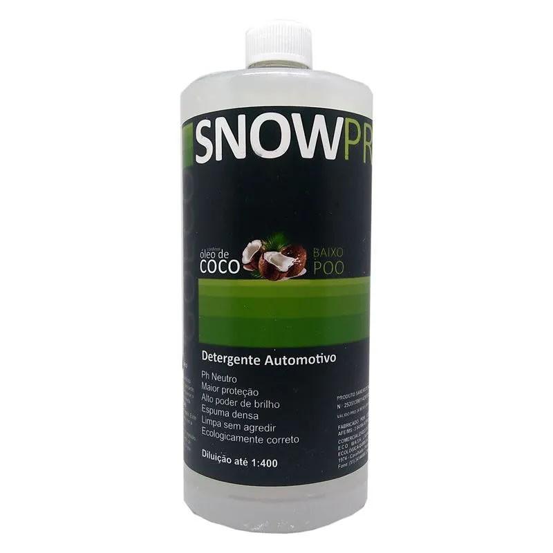 SnowPro Shampoo Automotivo c/ Óleo de Coco - 1L - GoEcoWash