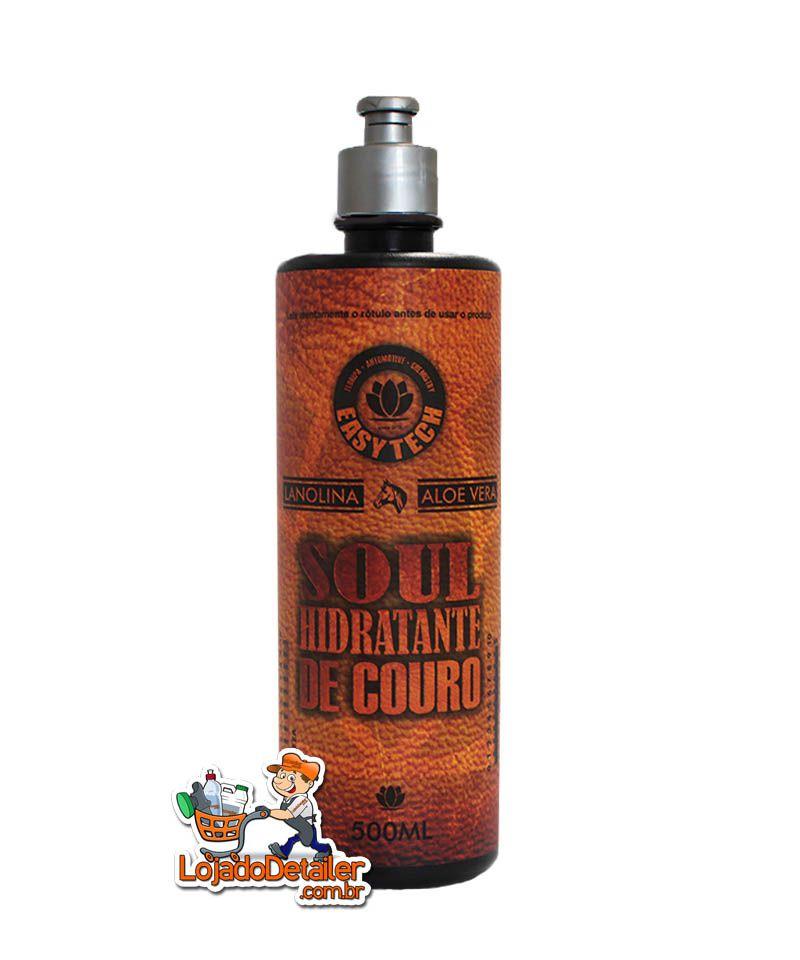 SOUL hidratante de couro sintético e natural - 500ml - Easytech